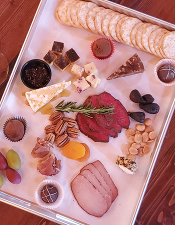 Elevated Valentine's Day Charcuterie