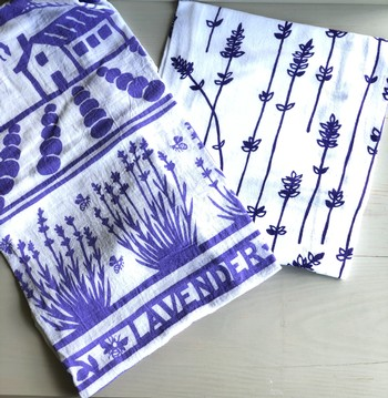 Lavender Tea Towel Set