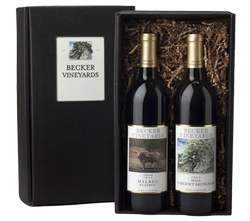 Red Wine Gift Box - 2 Bottle